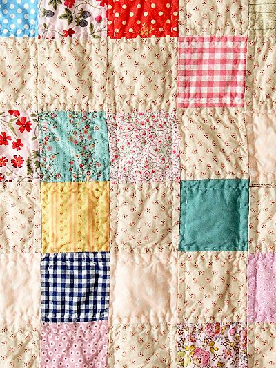 sweet patchwork quilt: Posie Gets Cozy