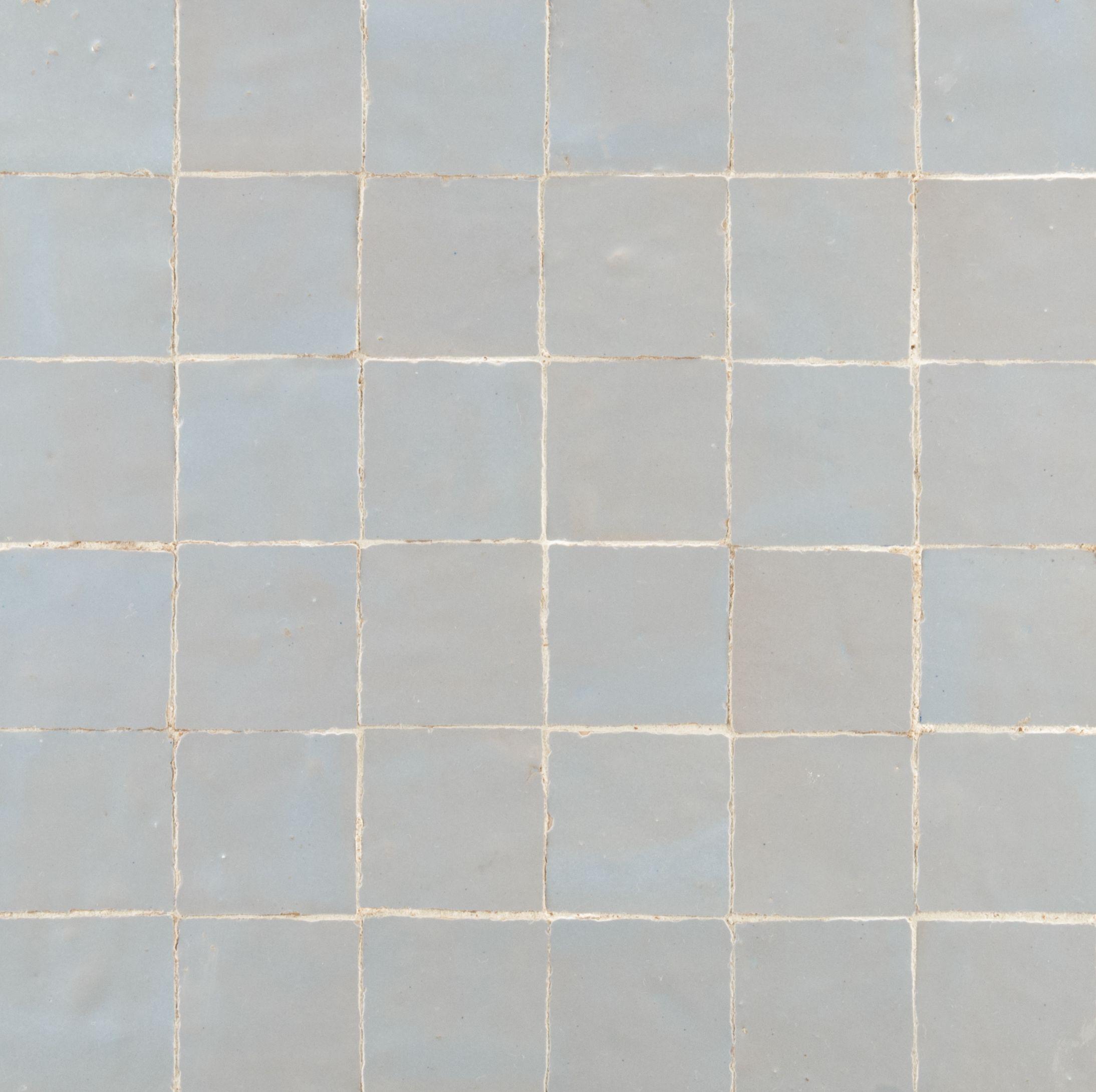 """Ann Sacks Mosaic Bathroom Tile: ANN SACKS Idris 2"""" X 2"""" Terra Cotta Mosaic In Ice Blue"""