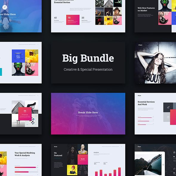 Special Theme Bundle 3 In 1get 3 Keynote Templates For 1 Affordable
