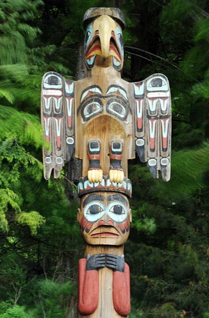 See Images Of The Eagle Indian Totem Pole At Bight State Park A Popular Stopping Point For Cruise Shore Excursions In Ketchikan