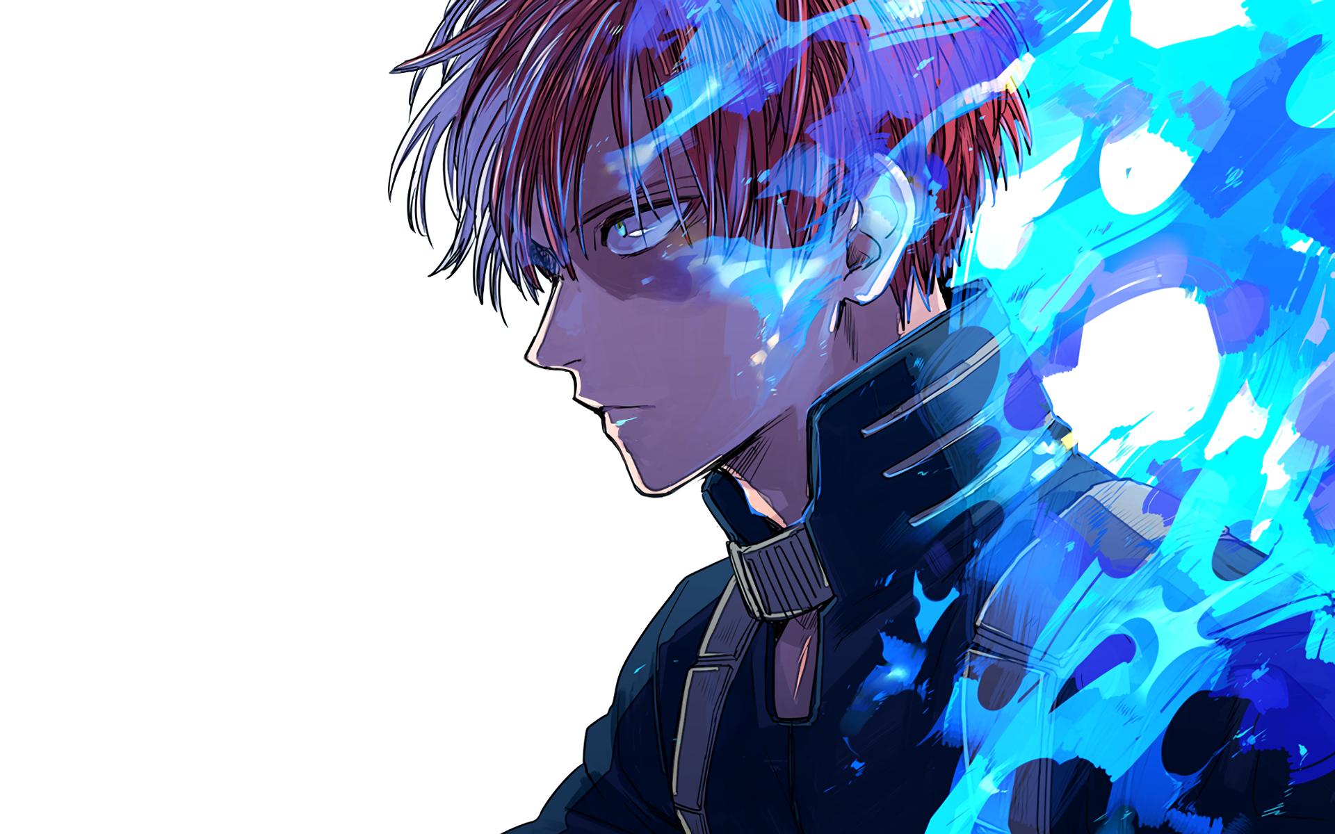 Shoto Todoroki Hero Wallpaper Anime Wallpaper Anime
