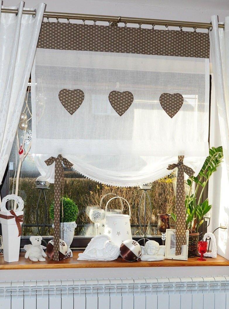 rzymska | Firanki | Pinterest | Window, Curtain ideas and Kitchens