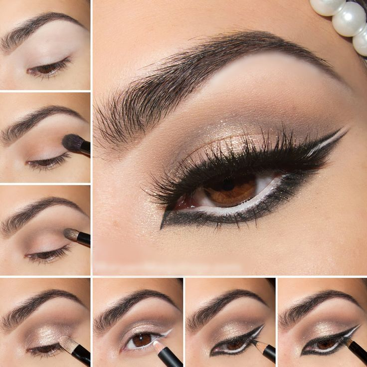 Wintry Exotic Arabic Makeup Tutorial Perhaps Inspired By Beyonces Eye In Superpower Video