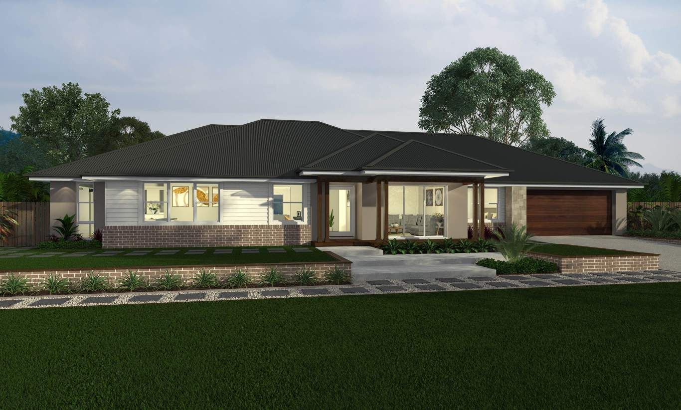 Hartley New Acreage Homes Designs Mcdonald Jones Homes Design Your Dream House House Design Facade House