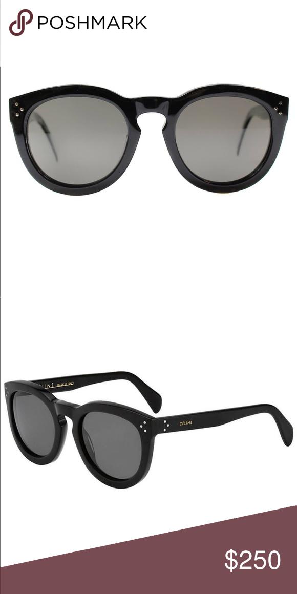 cef6673cc0778 Celine Round Sunglasses New never worn Celine black sunglasses with Celine  sunglass pouch Celine Accessories Sunglasses