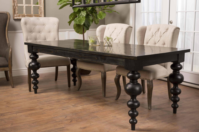 Modern Turned Leg Dining Table Dining Table Legs Turned Table