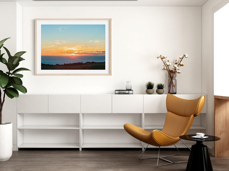 Hawaii Sunset Print Beach Decor Ocean Print Lanai Beach Etsy In 2020 Beach Wall Art California Wall Art Home Decor