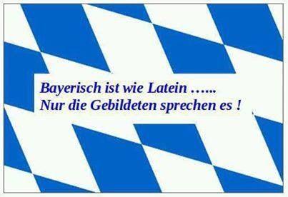 Nur Die Gebildeten Sprechen Es Bayerische Spruche Bayrische Spruche Coole Spruche