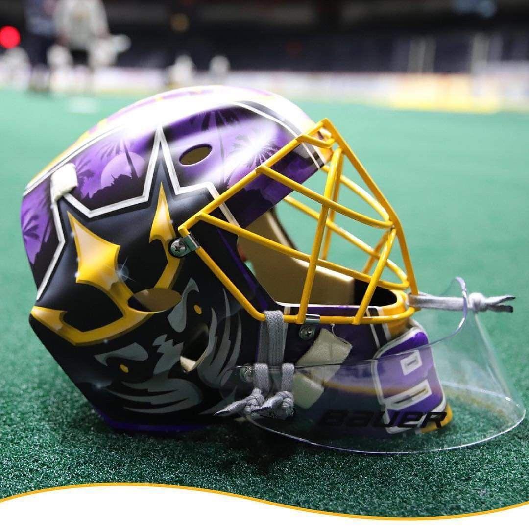 San Diego SealsNLL Lacrosse boys, Football helmets