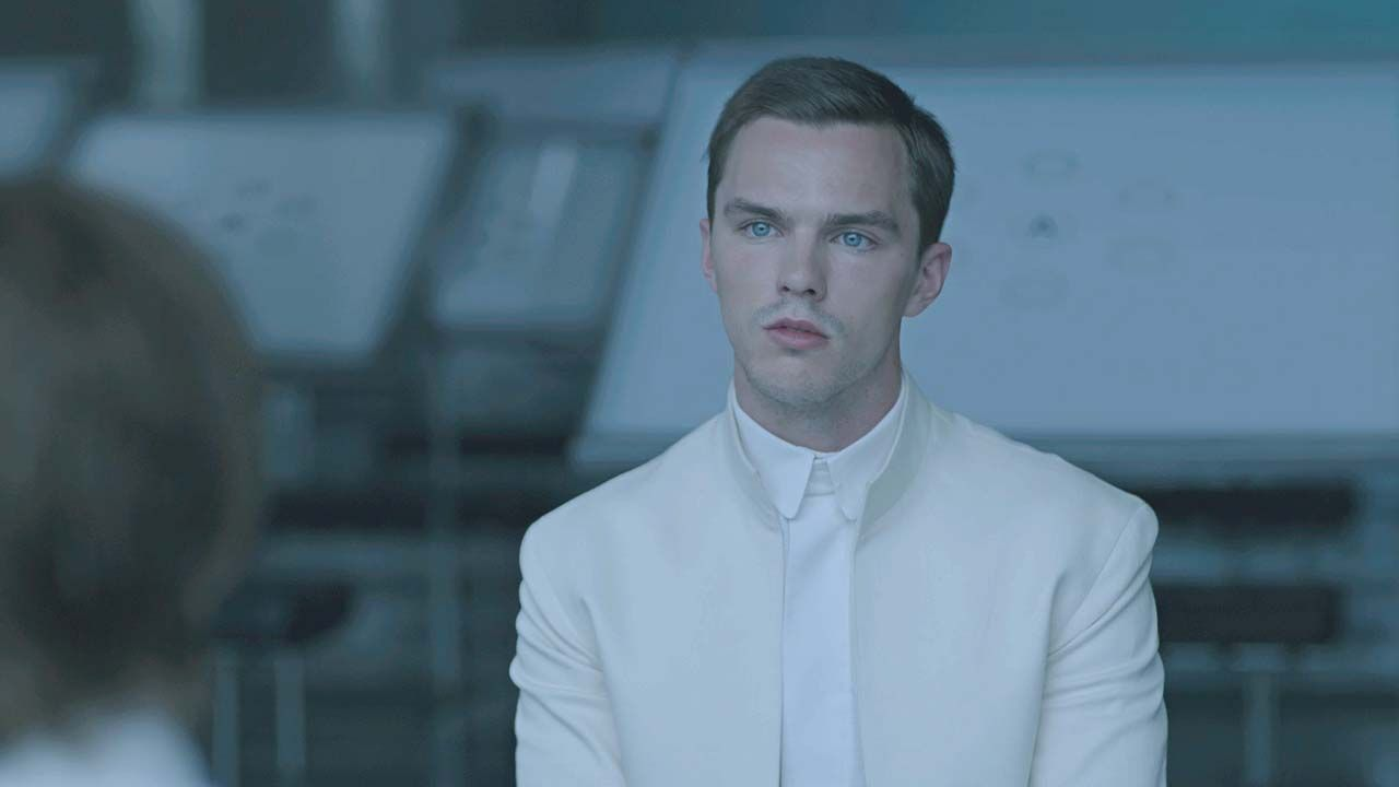 Kristen Stewart and Nicholas Hoult Have Forbidden Feelings in 'Equals' Clip (Exclusive) -  The beautiful duo are getting switched-on
