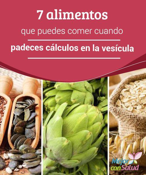 Dieta para eliminar los calculos biliares
