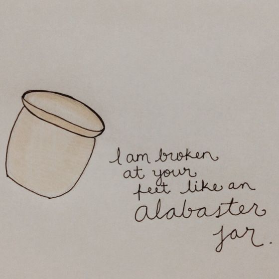 Alabaster Alabaster Jar Christian Messages Beautiful Words