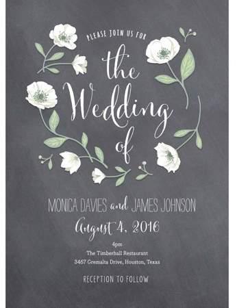 Wedding Flowers Standard Wedding Invitation Walmart Com Wedding Invitations Buy Wedding Invitations Wedding Flowers