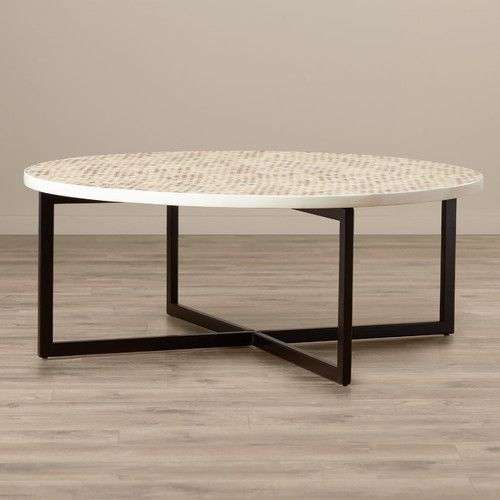 Cruz Coffee Table Coffee Table Furniture Round Coffee Table