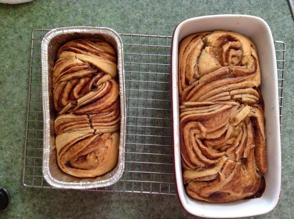 Cinnamon Swirl Brioche  Sourdough or Traditional Yeast Methods