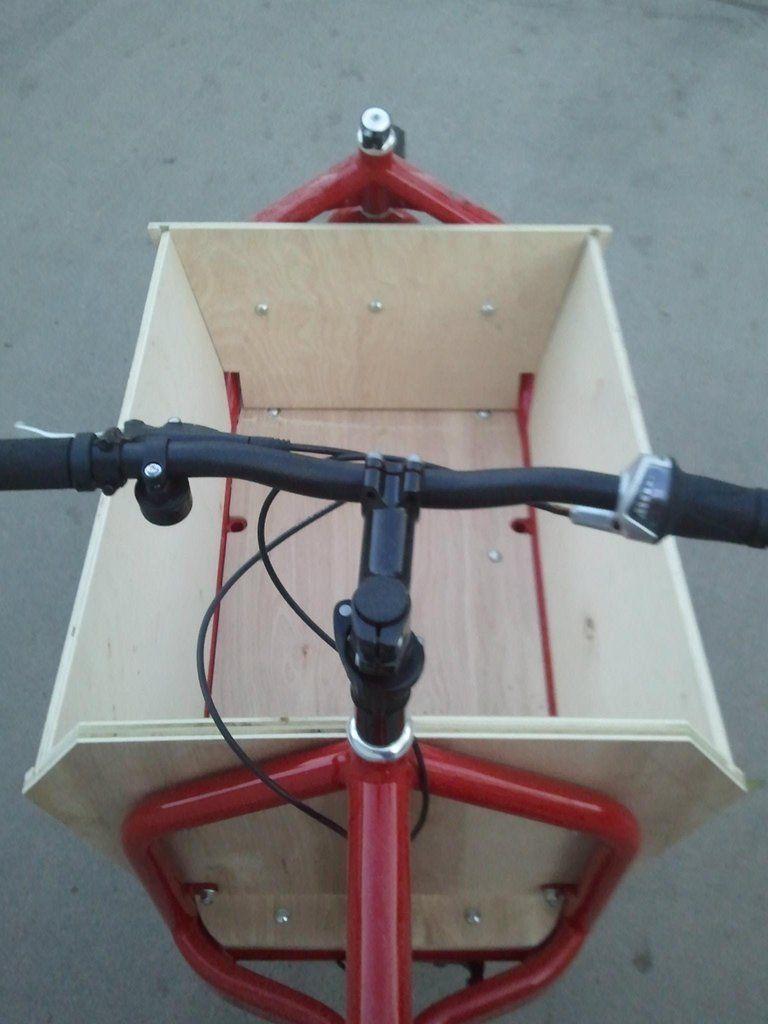 Bullitt Box Bike Build Imgur Lastenfahrrad Bullitt Bike Fahrrad