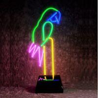 Parrot Neon Sculpture