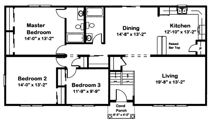 A Modular Raised Ranch Offers Many Advantages Split Level House Plans Floor Plans House Plans