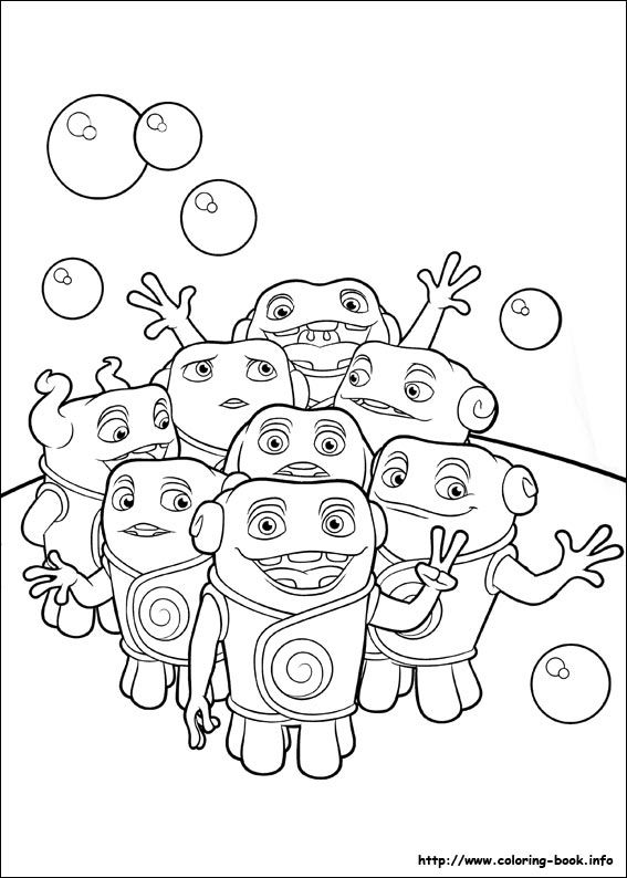 Home coloring picture | Coloring Pages 2 | Pinterest