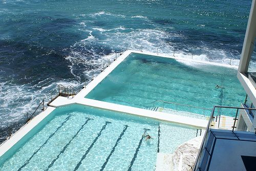 Lap Pools On The Ocean Salt Pool Cool Swimming Pools Cool Pools