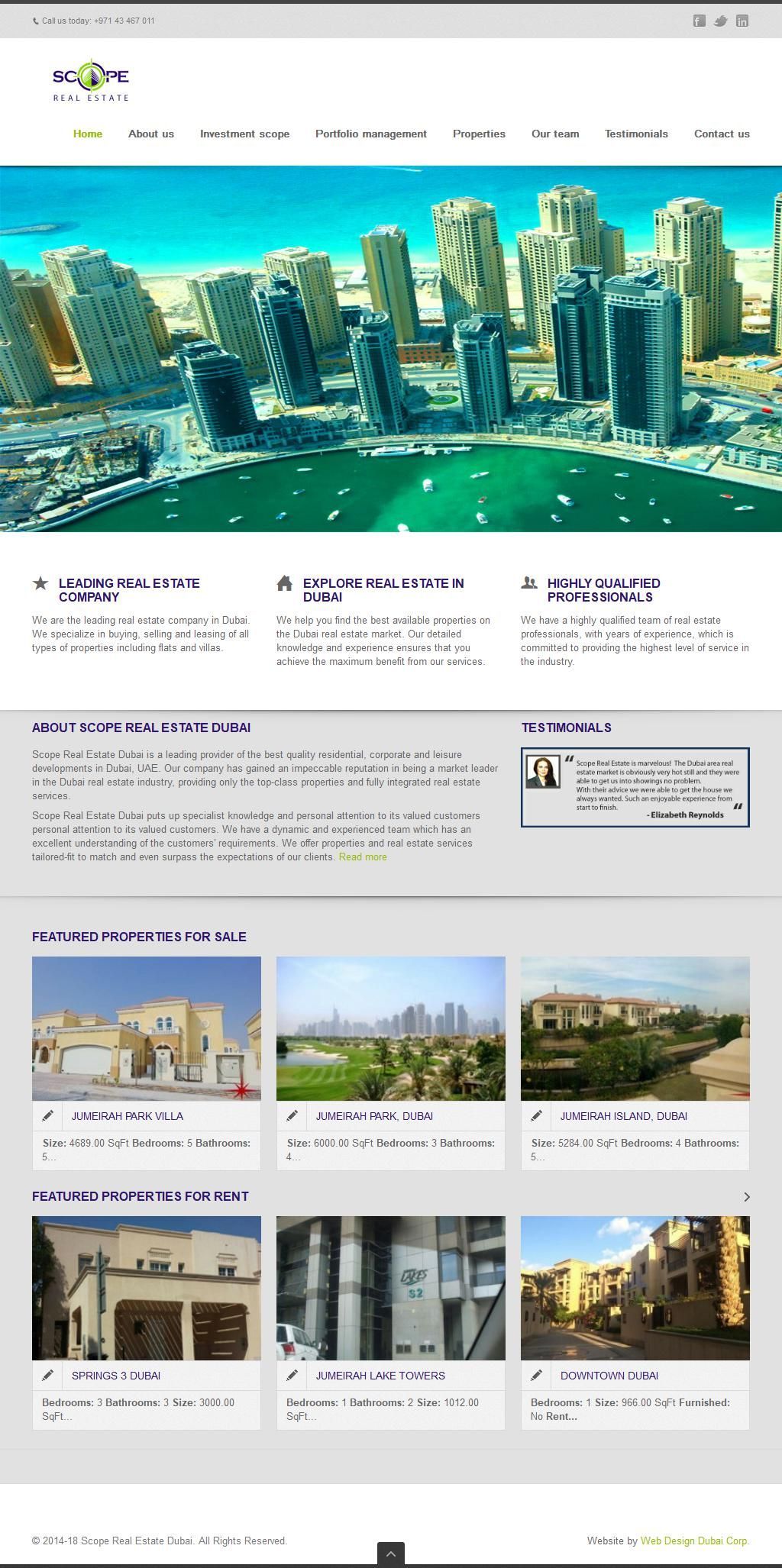 Scope Real Estate Brokers Company Gold & Diamond Park Block