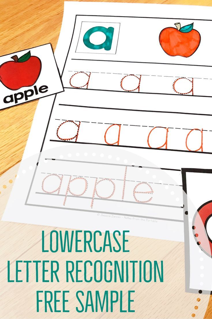 Lowercase Letter Recognition Strategies And Lessons For Young