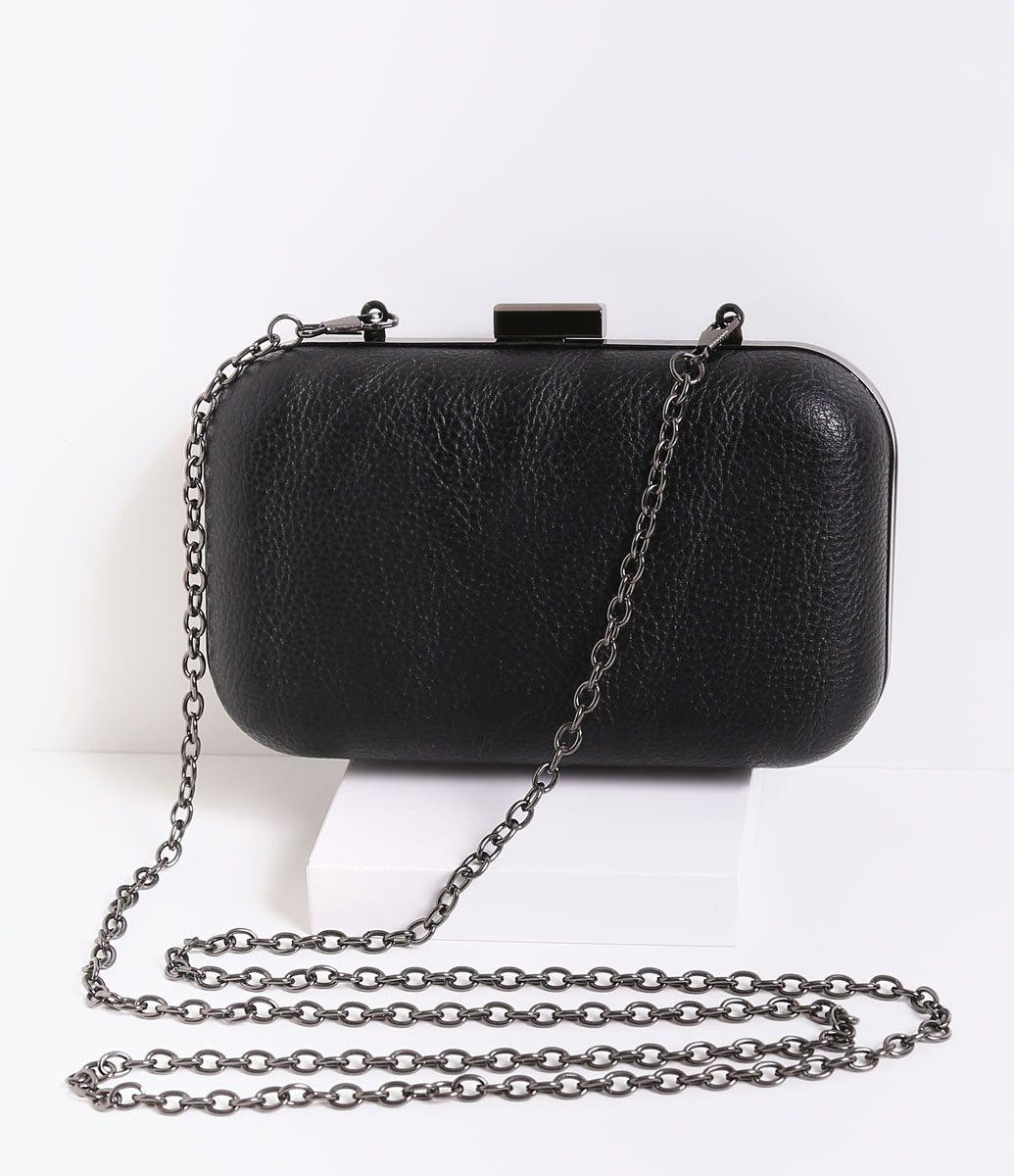 5d69b4e36b Bolsa feminina clutch com alça de corrente
