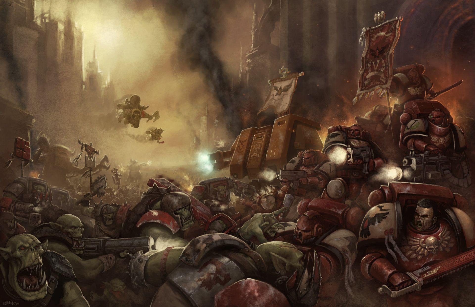 40k Wallpapers Album On Imgur Warhammer Warhammer 40k Artwork Raven Artwork