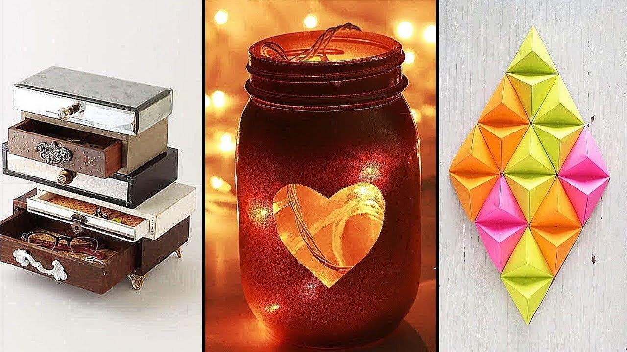 diy room decor 10 easy inexpensive crafts craft videos diy