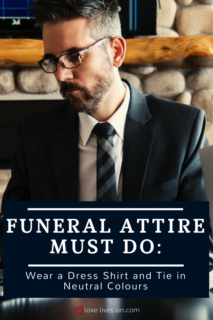 148fc6f83f7a What to Wear to a Funeral or Memorial Service for Men in 2019 | L ...