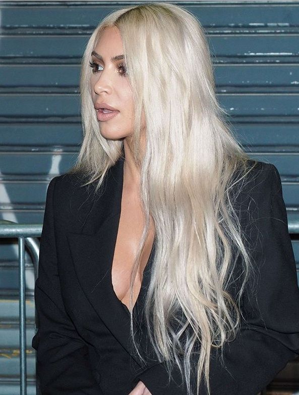 Kim Kardashian Platinum Blonde Memes 9 Photos Fashion