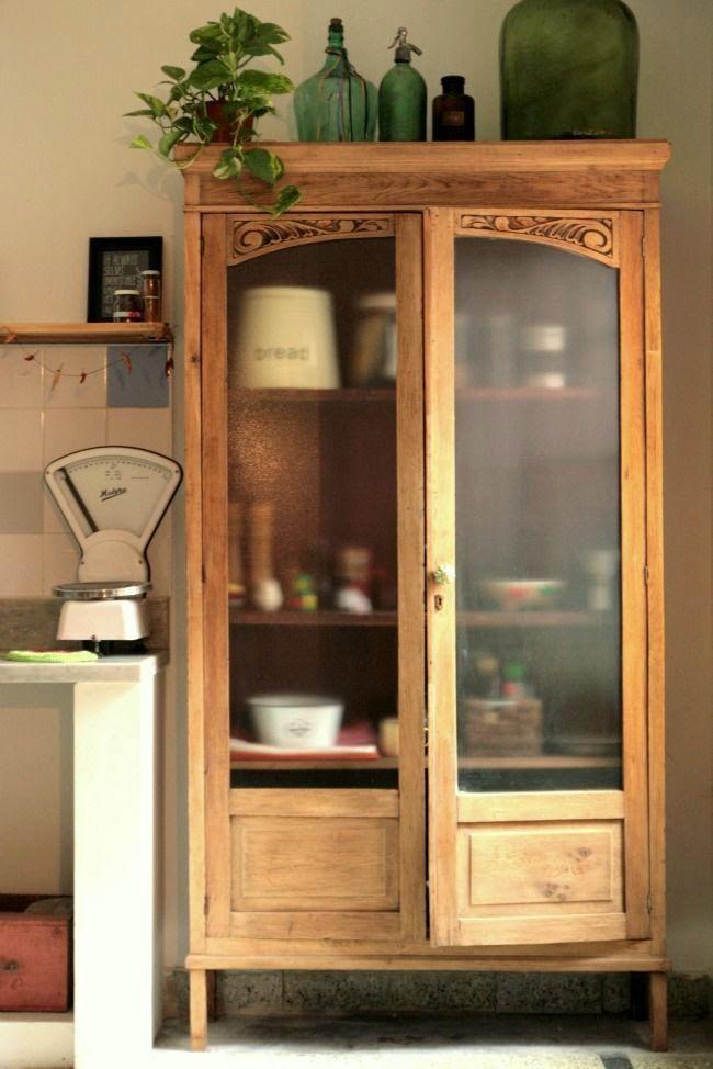 Vitrinas ese escaparate multifunci n el rincon vintage - Aparadores para cocina ...