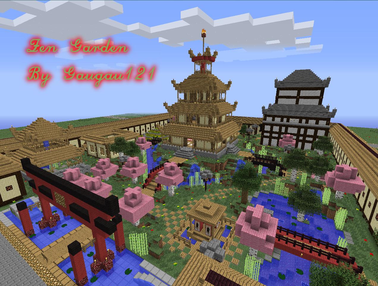 Zen Garden Ideas Minecraft