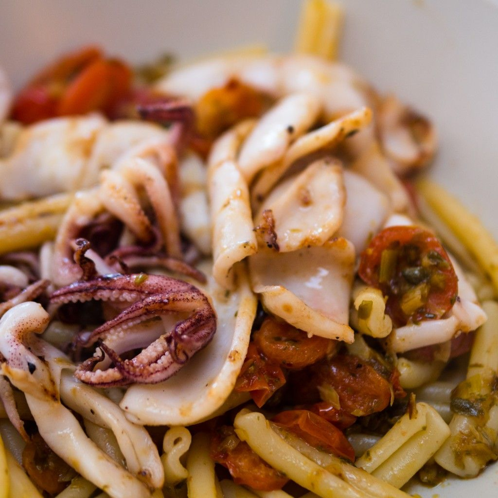 Charred squid pasta   Barnes & Hoggett