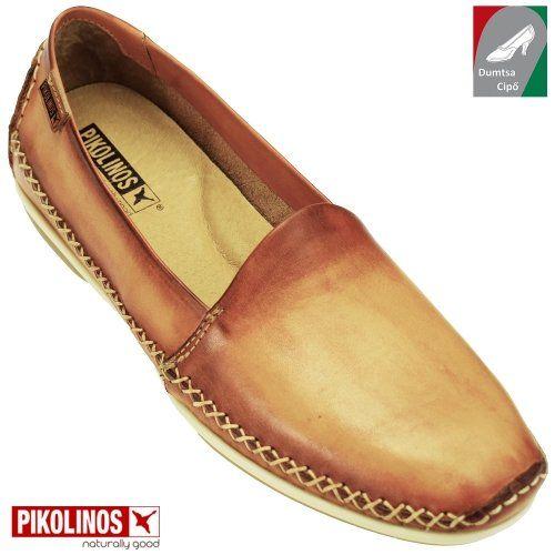 Pikolinos női bőr cipő WIR-4686 Lava antikolt konyak  58ccf362eb