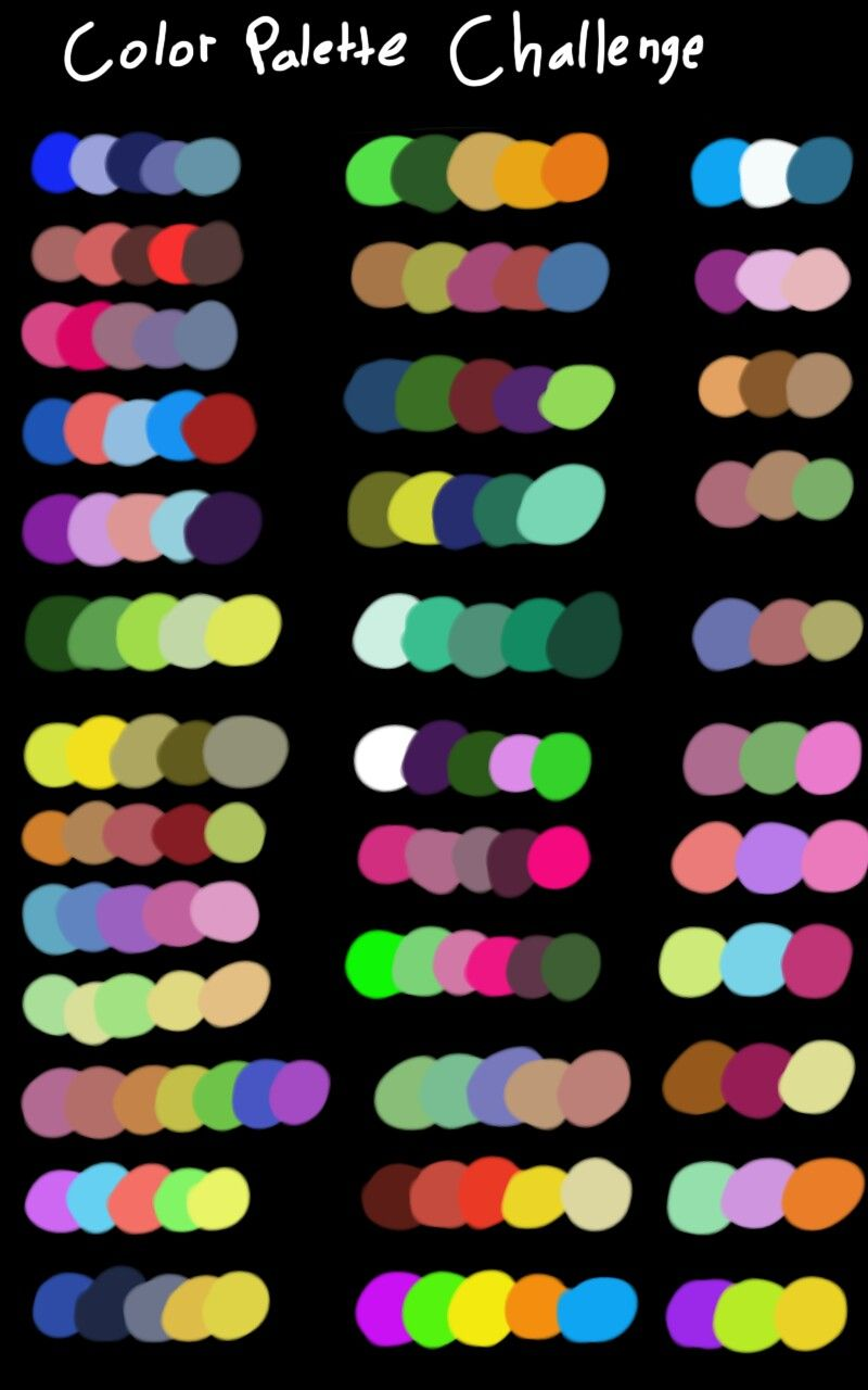 My own color palette challenge   Color palette challenge ...