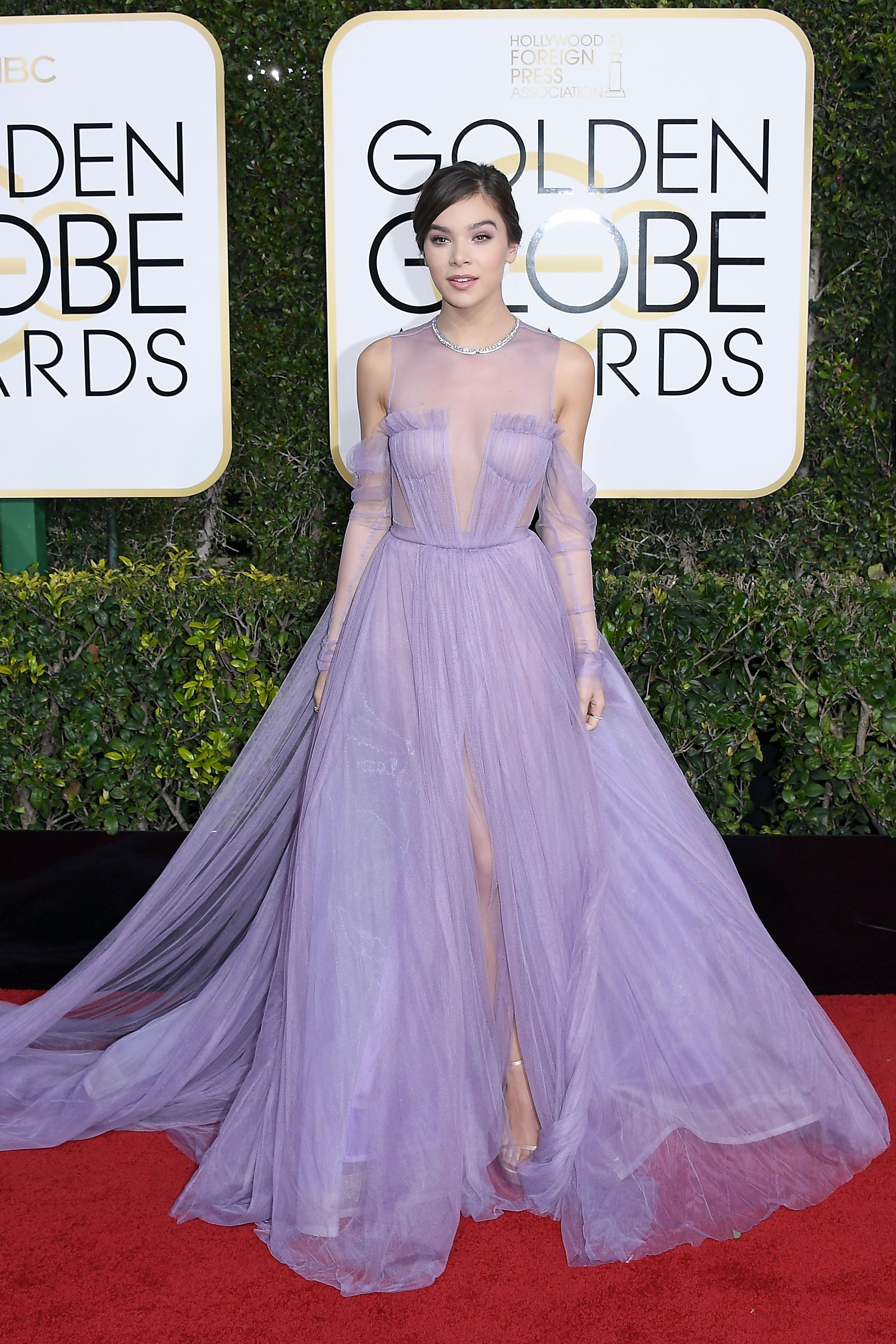 All the Looks From the 2017 Golden Globes Red Carpet | Hailee ...