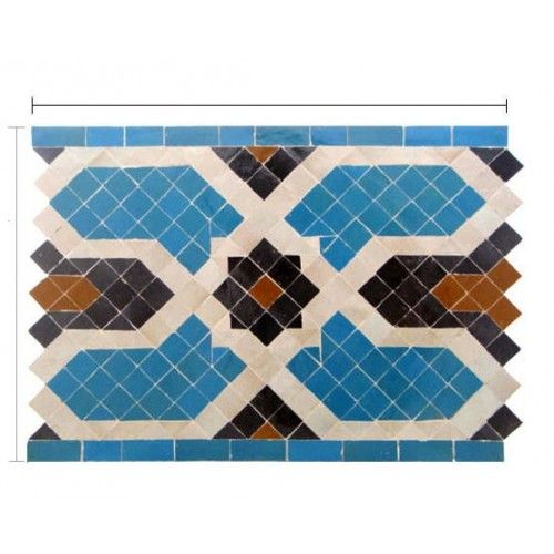 Decorative Pool Tile Impressive Moroccan Pool Tile  Pool Tiles  Pinterest  Moroccan Border Design Decoration