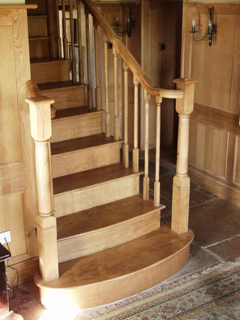 Best Farm House Staircases Oak Panelling And Stairs Bagbury 400 x 300
