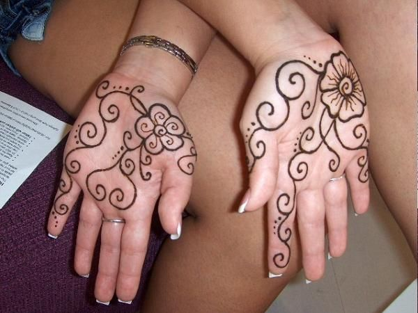 Mehndi Designs For New Learners : Simple mehndi designs for beginners henna patterns