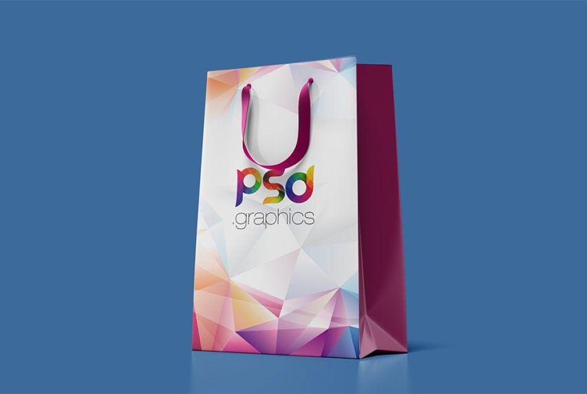 Download Paper Shopping Bag Mockup Free Psd Mockup Free Psd Bag Mockup Corporate Identity Mockup