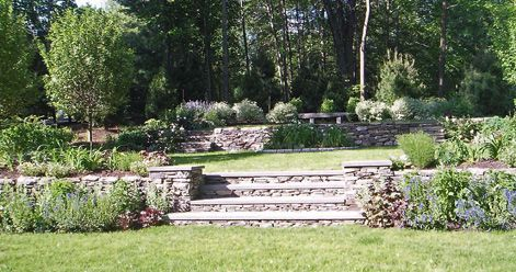 Tiered Landscaping Pictures | In The Garden   Portfolio
