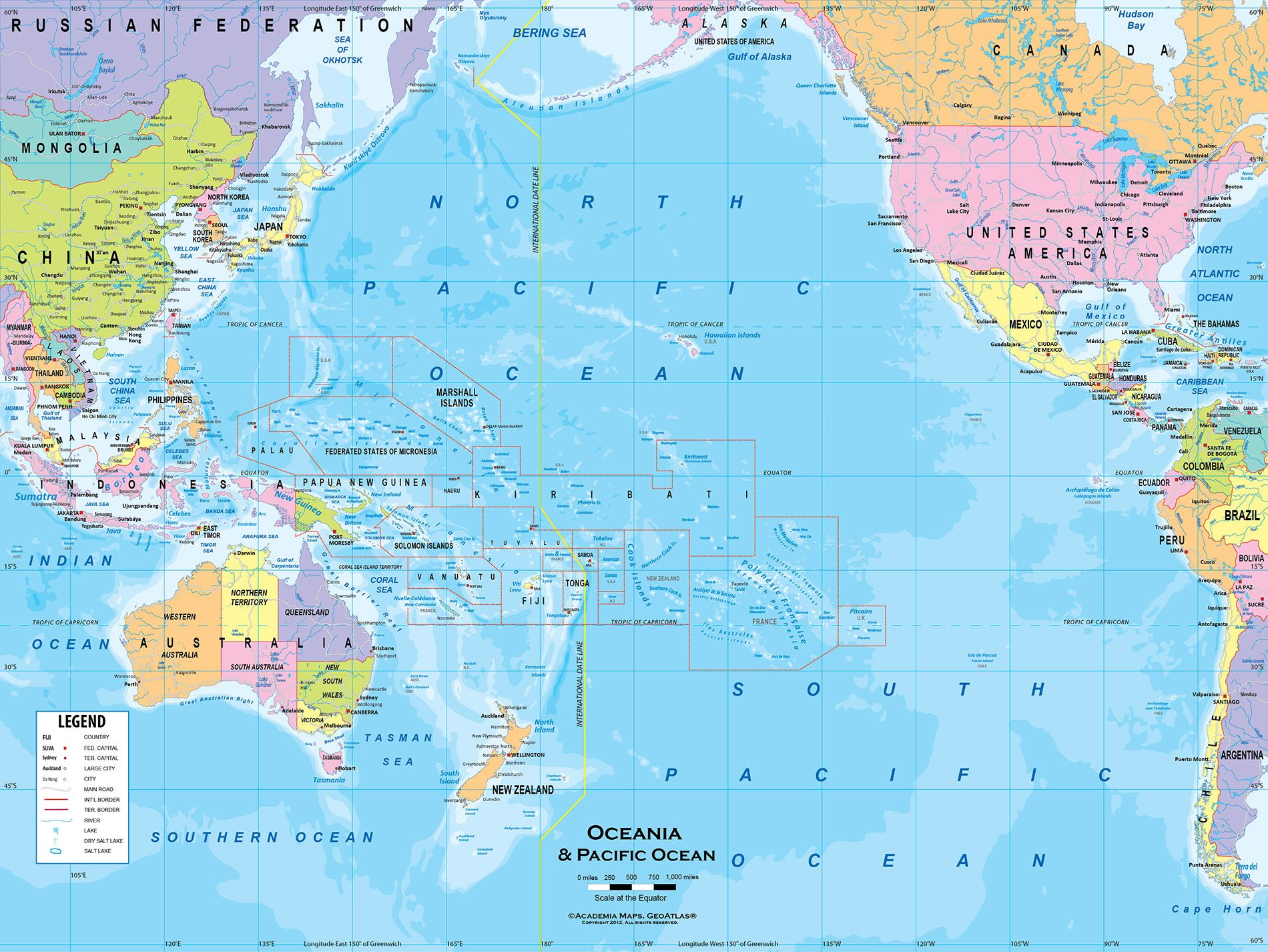Pin by julia hemmings on summer assignment references pinterest wall maps australia island nations latitude longitude social studies countries highlights classroom roads gumiabroncs Choice Image