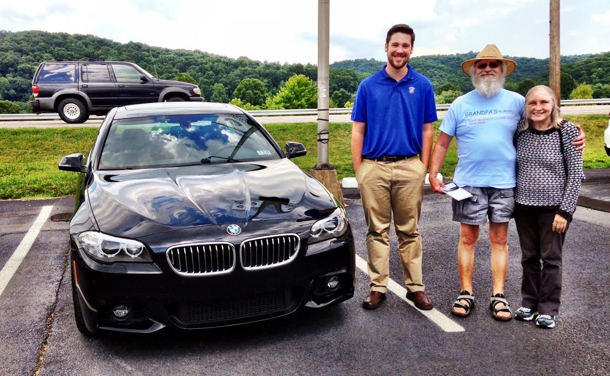 Congratulations to the Edelmans on their new BMW 5 Series