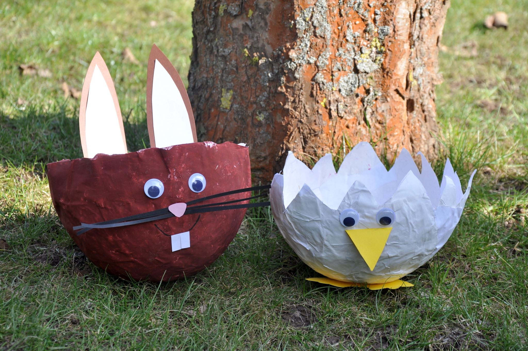 Diy Einfache Upcycling Osterkorbchen