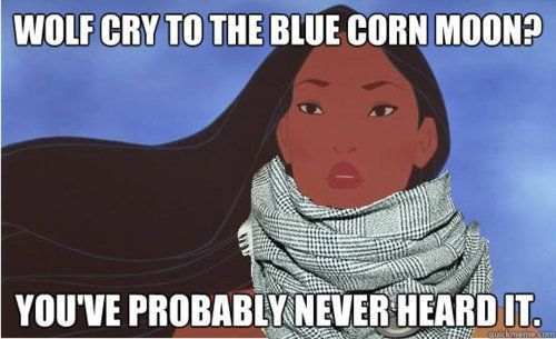 6afab9d7637c32ae03f010e10ac69f82 even pocahontas' animal calls are way ahead of their time,Hipster Disney Princess Meme