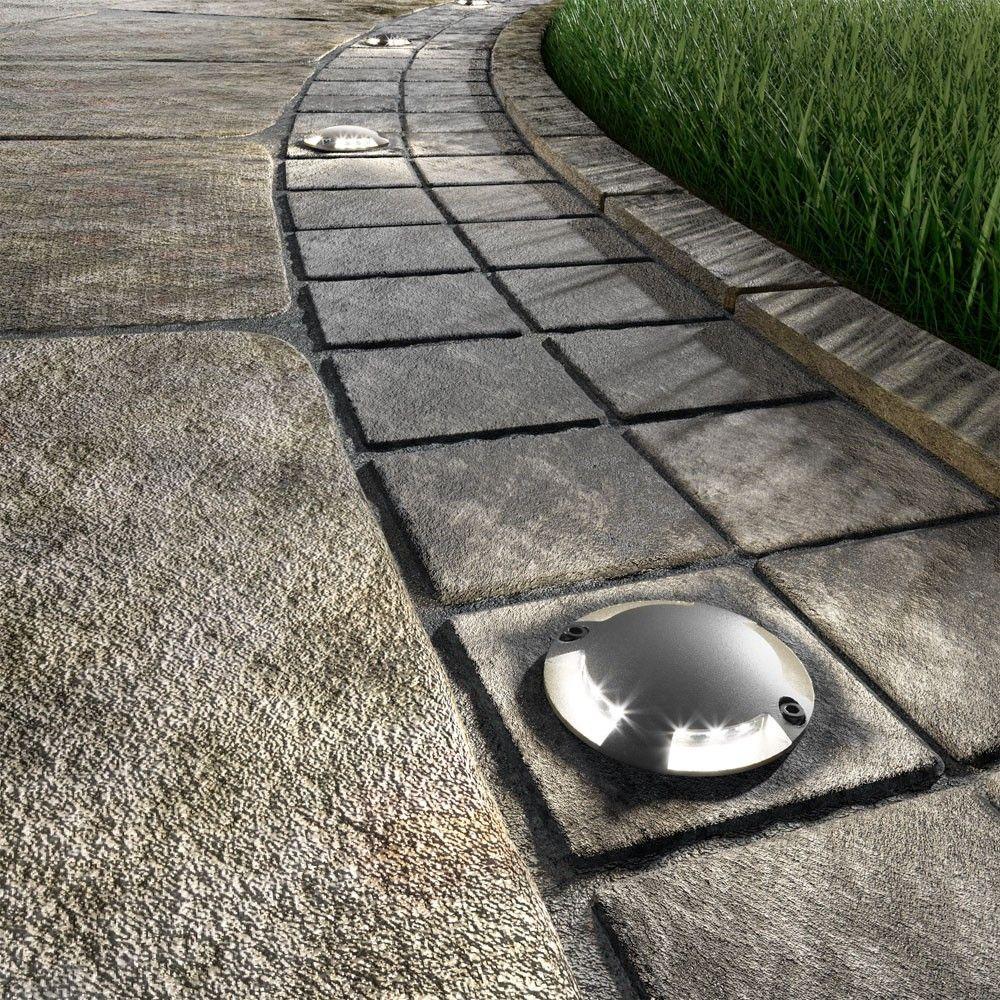 Fabulous parlat LED Boden Aufbau Leuchte Bunda f r au en befahrbar kalt wei Set Unsere LED Boden Aufbau Leuchte Bunda wurde speziell f r den Au en Einsatz