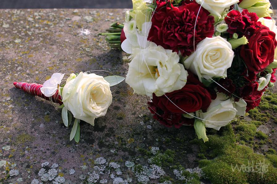 Hochzeitsanstecker, Blumenanstecker für Bräutigam | weddstyle