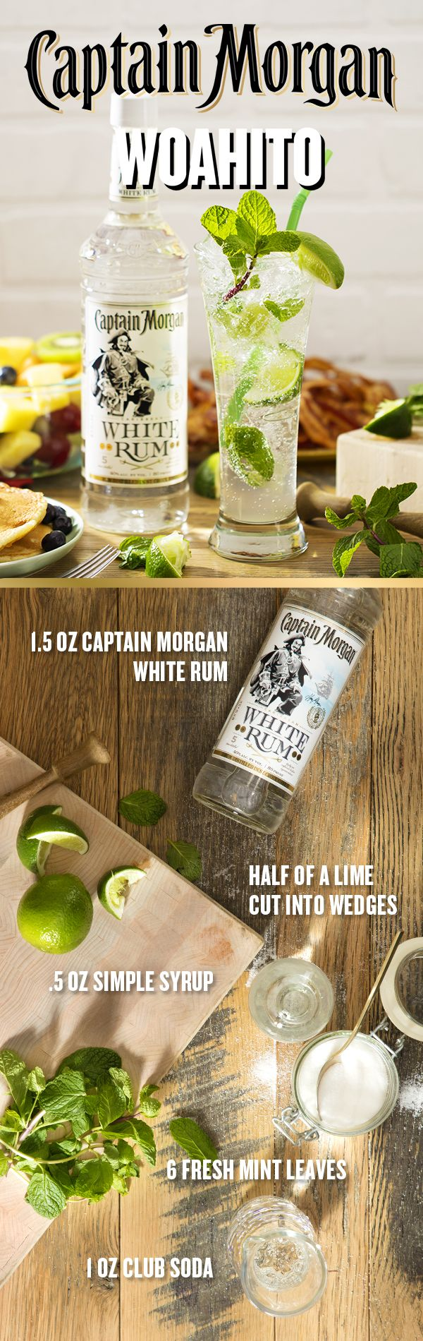 When Brunch Calls The Captain Answers Before You Break Out The Bacon And Eggs Make Sure Your Guests Have A Sweet Coc Yummy Drinks Sweet Cocktails Fun Drinks