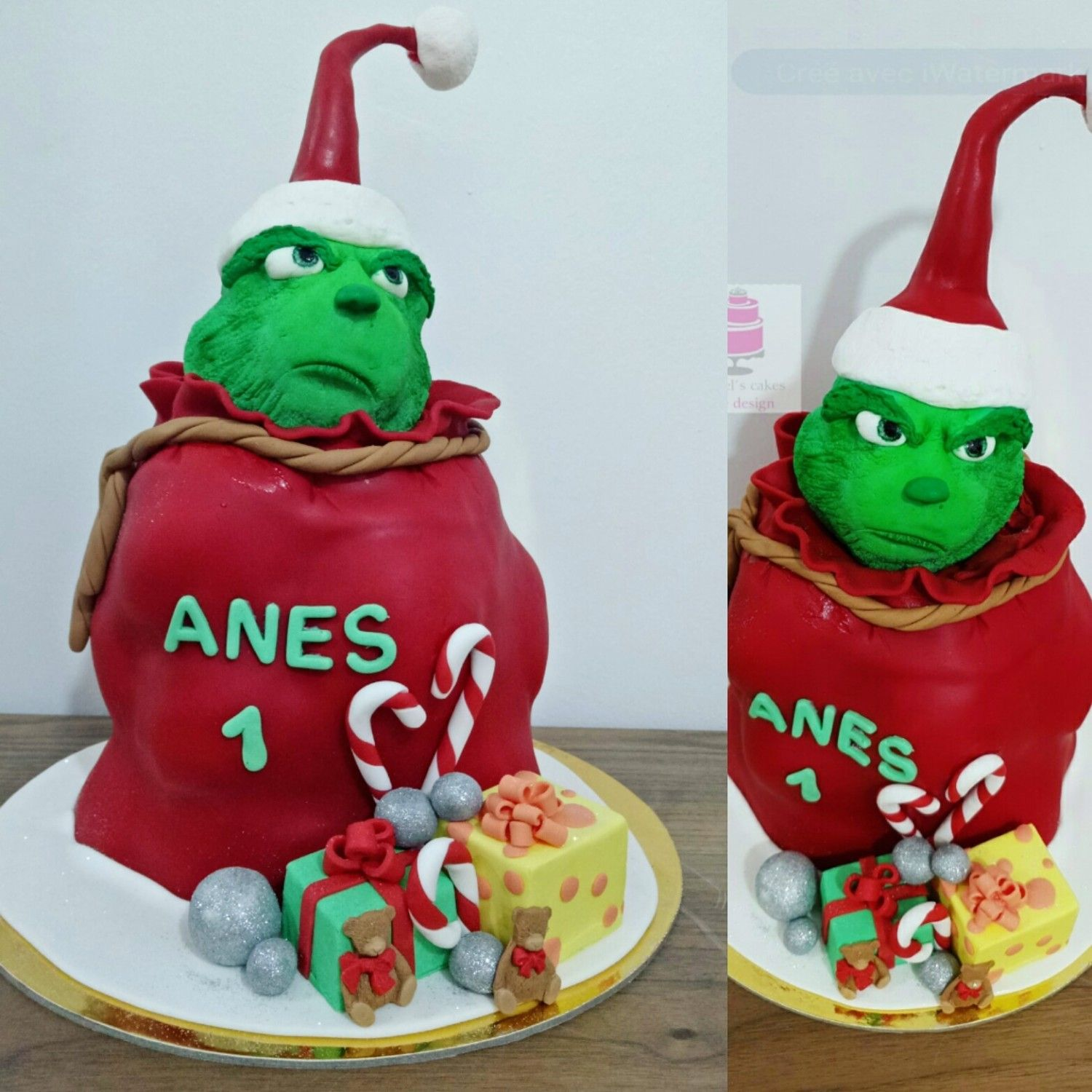 The Grinch cake by MayBel's cakes (With images) Grinch